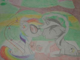Hearts and Hooves Day- Bi-Skuller and DH Pon-3 by Shadowboy378