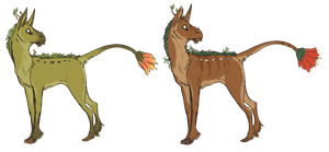 Codicarius Fawn Adopts by Susiron