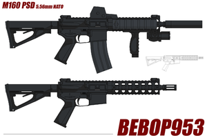 M160 PSD by BeBop953