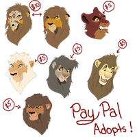 Paypal Bust Adopts by Carlene707