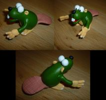 Gnawty Figurine by Jelle-C
