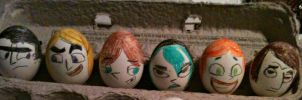 Easter Eggs by creativetomboy