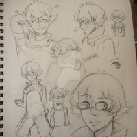 FAPuary Day 1/2 | pidge gunderson by Embasan