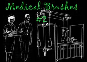 Medical brushes number 2 by necrosensual-art