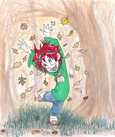 Leaf Dance by Amelius