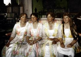 Daughters of the Tsar by VelkokneznaMaria