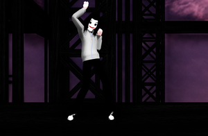 MMD Jeff The Killer: Sweet Devil by NecroMasterSyl