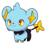 Baby Shinx by ohkoko