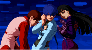 My KoF 2002 Team by Airceltrai