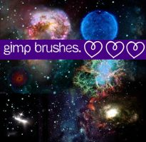 Pretty night brushes. FULLVIEW by MyLastBlkRose