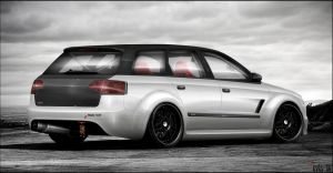 Audi RS4 Avant by evisdesign