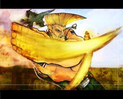 ::Street Fighter: Guile:: by NX-Crew
