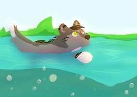 Go For A Swim by StormWhiskers
