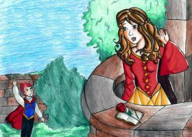 Hermione and her Prince by bachel60
