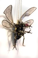 Steampunk Evil Demon Fairy WIP by CatherinetteRings