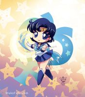 .:Chibi Super Sailor Mercury: by Mako-Fufu