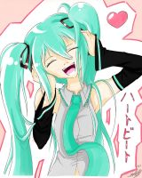 Miku - Heartbeat by Hhell