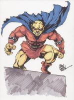 Jack Kirby's Demon commission by Dogsupreme