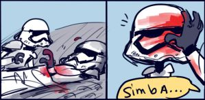 Star Wars: The Force Awakens - doodles #5 by Ayej