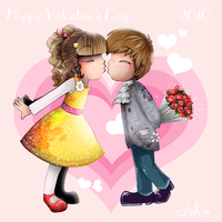 Happy Valentine's Day 2010 by souerlemon