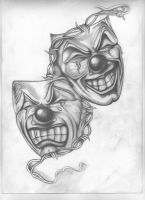 Theatrical Masks by PatrickJking