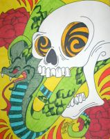 Snake Skull by ToniTiger415