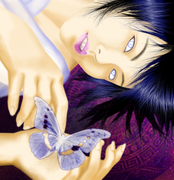Hinata's Butterfly by daxyliora