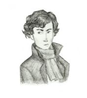 BBC (teen?) Sherlock-sketch by Xijalle