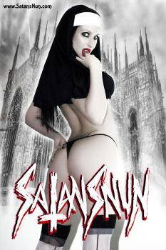 SatansNun Church Blasphemy by hellphoto