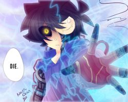 Cyber!Cry - It's time for you to leave this world by Nadi-Chan