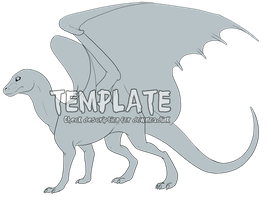 Dragon Template - Download link in description by Eyenoom