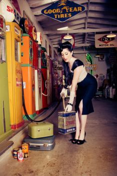 Pin-Up: Vintage Photoshoot by Agent-Paradox