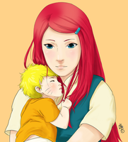 Mum's Red Hair by DownsEndRoad