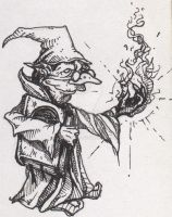 Goblin Mage by ANDYLYONS