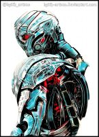 [FOR SALE] Ultron - Avengers:Age of Ultron by Keith-arts02