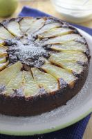 Molten Chocolate and Pear Pudding by cakecrumbs