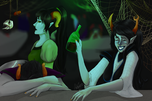 homestuck  so who's the winner? by andszej