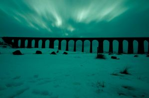 Aurora over Ribblehead by markthetog