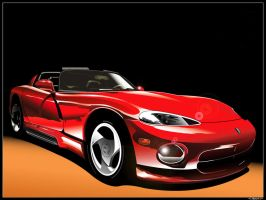 Dodge Viper by l-llskynetll-l