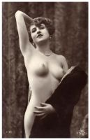 Vintage Female Nude 47 by Bnspyrd
