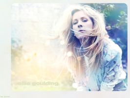 Ellie Goulding Wallpaper by jennilennox