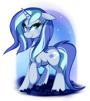 Night Whispers - Pony OC by pepooni