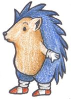 Classic Children's Book Sonic by SillyEwe