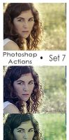 Photoshop Actions - Pack 7 by Lune-Tutorials