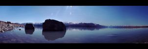 Lake Pukaki by MelpomenesMask