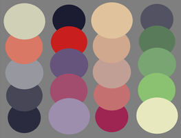 Wolf Palettes by ee-palettes