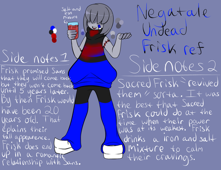 Negatale Undead Frisk ref by ReneesDetermination