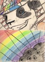 he's the prismatic addict by darkautumstar