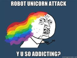 Robot Unicorn Attack by Mystery-Dude