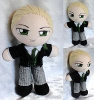 Commission, Mini Plushie Herman Greenhill by ThePlushieLady
